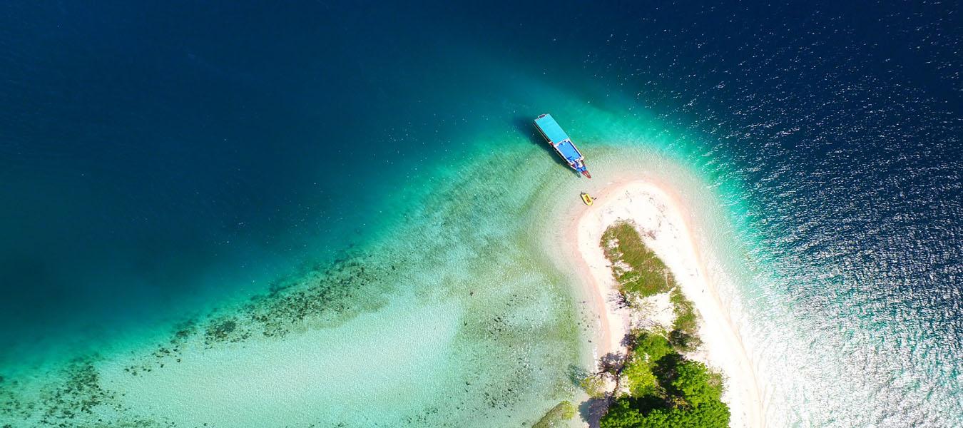 Breathtaking View of Kelor Island